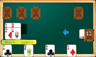Screenshot of Durak game