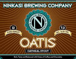 Logo of Ninkasi Oatis Oatmeal Stout