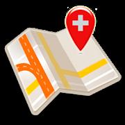 Map of Geneva offline