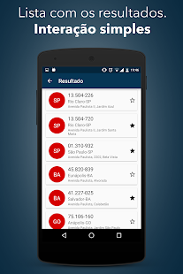 consulta cep endere231o correio android apps on google play
