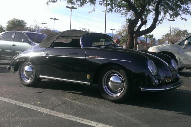 1955 Porsche Speedster Hire CA