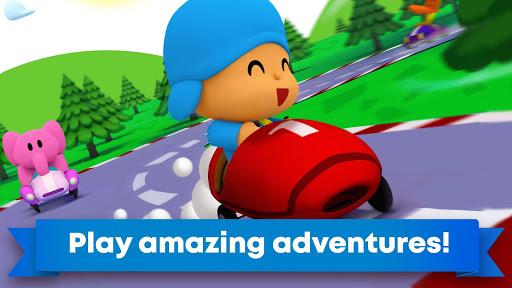 Pocoyo Racing: Kids Car Race - Fast 3D Adventure 1.0.0 screenshots 1