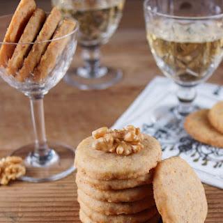 Cheddar Walnut Crackers