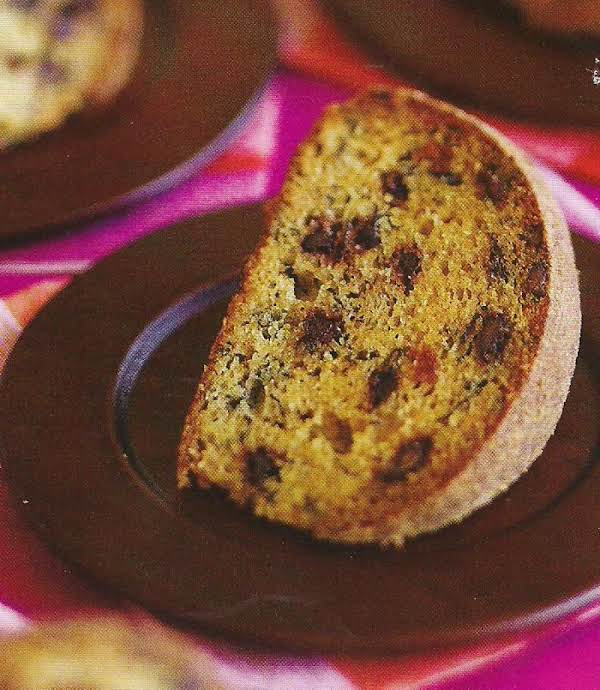 Brown Butter Banana Cake With Chocolate Chips