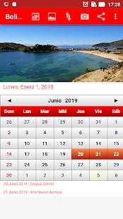 Bolivia Calendario 2018 - náhled