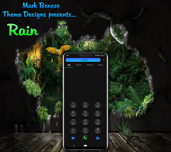 Rain Theme for LG G8, V40, V50 UX8 Android 9 for PC-Windows 7,8,10 and Mac apk screenshot 6