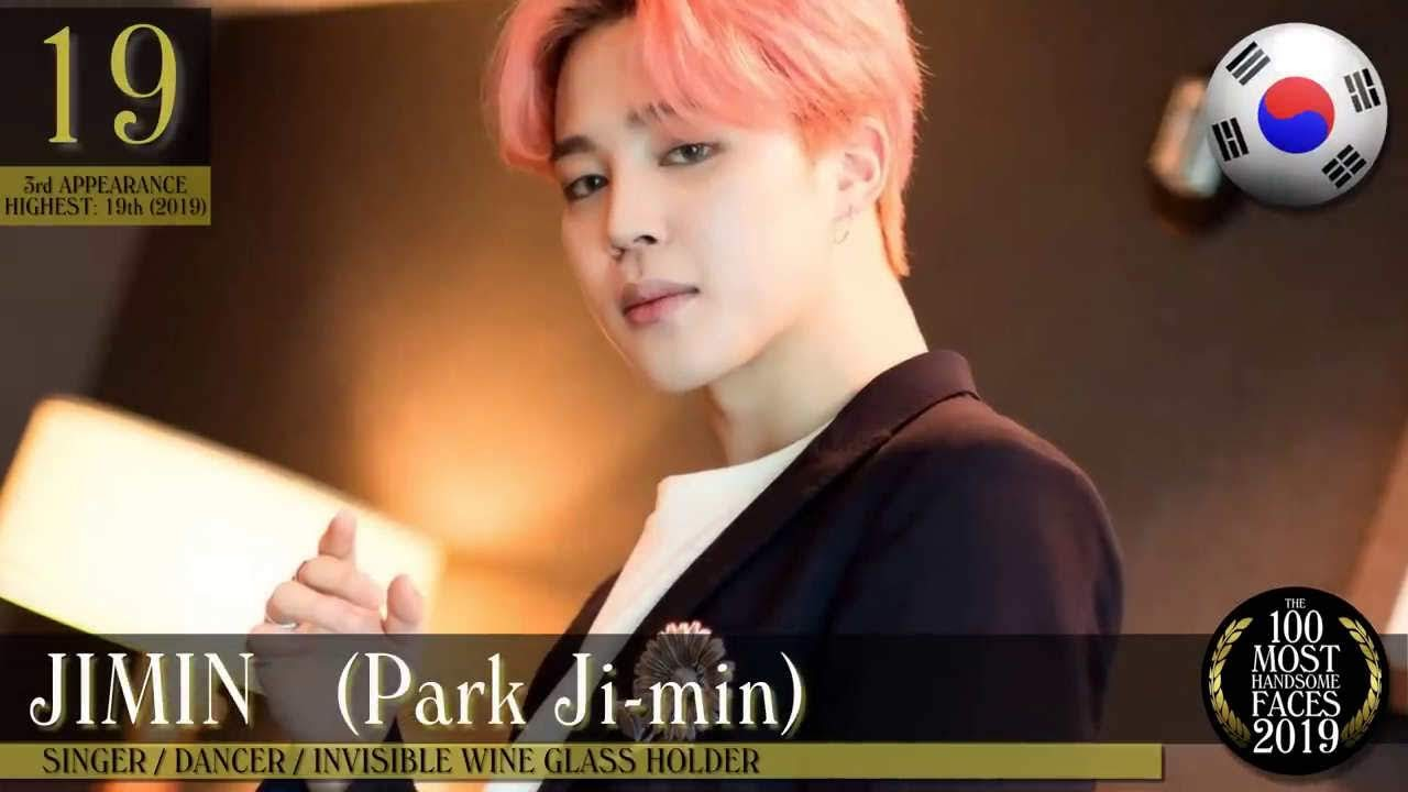 BTS Jimin in the Most Handsome Face list 2019 by TC Candler