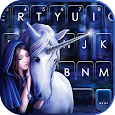 Unicorn Fairytale Keyboard Background