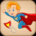 Baby Superhero Jigsaw Puzzle icon
