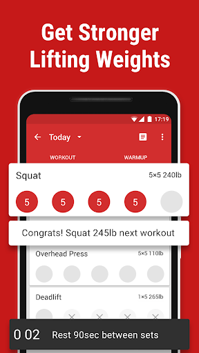 Stronglifts 5x5 - Weight Lifting & Gym Workout Log screenshots 1