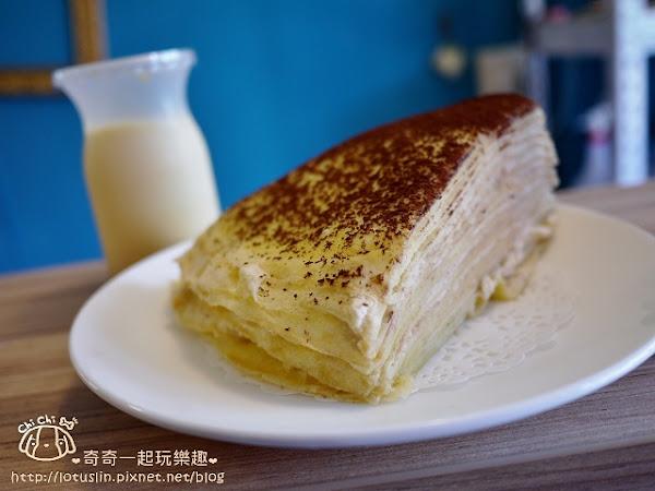 可露語x手做甜點 大菜市(西門市場) 限量甜點 千層蛋糕.可露麗