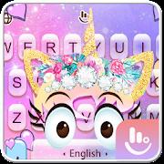 Pink Unicorn Keyboard Theme