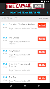 Moviefone - Movies & Showtimes- screenshot thumbnail