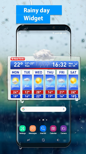 Weather Report & Temperature Widget 15.1.0.45733_45904 screenshots 2