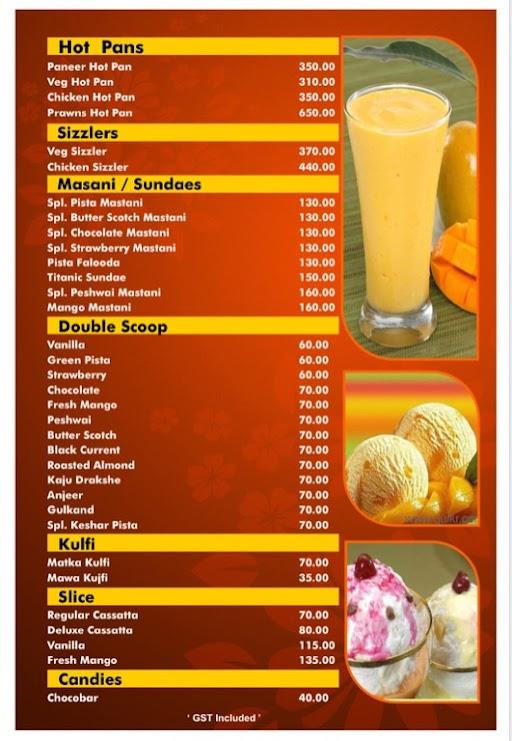 Hotel Kunal menu 7