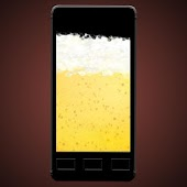 Funny virtual beer
