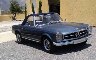 Mercedes-Benz 230 SL Pagoda Rent Occitanie