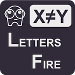 Letters Fire Icon