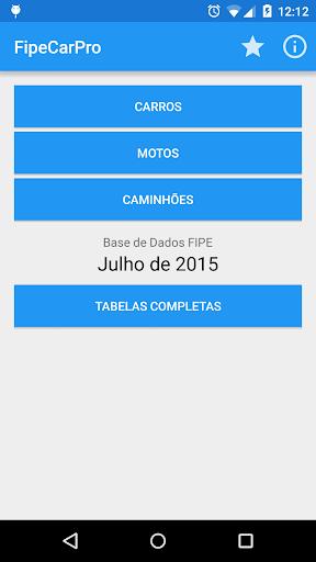 FipeCarPro-Tabela FIPE Offline