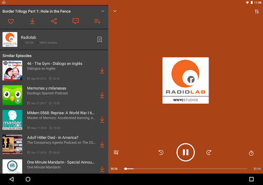 Castbox: Free Podcast Player, Radio & Audio Books app (apk) free download for Android/PC/Windows screenshot
