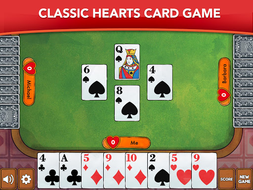 Hearts - Card Game Classic filehippodl screenshot 6