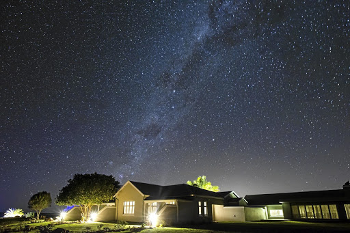 The renovated old farmhouse offer sweeping views over the cliffs, valleys, bushveld and stars.  Picture: SUPPLIED