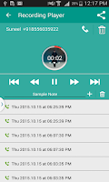 Screenshot of Total Call Recorder ( TCR )
