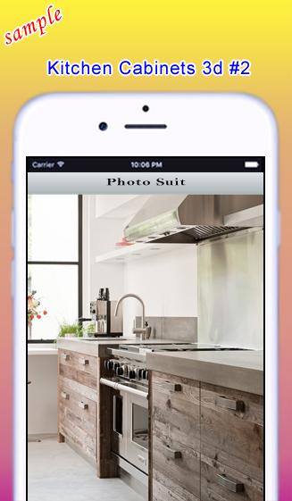 Kitchen cabinets 3d android apps on google play for 3d kitchen cabinets