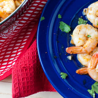 Garlic Shrimp Appetizer.