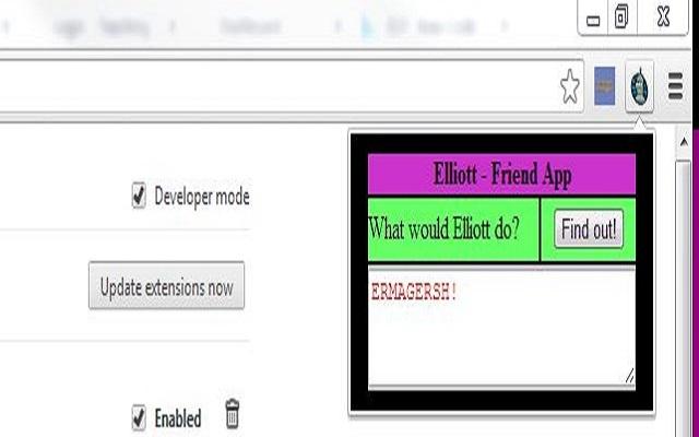 Elliott - Friend App