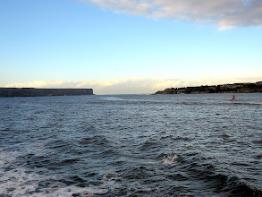 Photo: Opening from Sydney Harbor to the Pacific