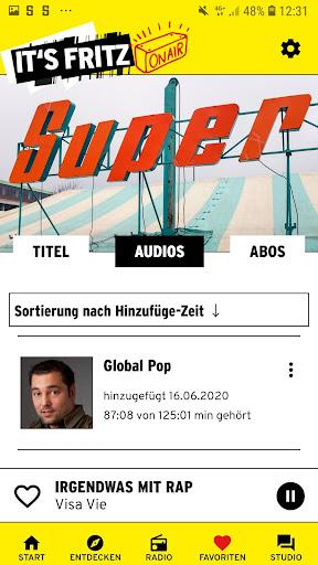 Radio Fritz  screenshots 6