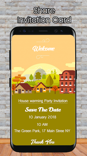 Housewarming Invitation Card Apps On Google Play