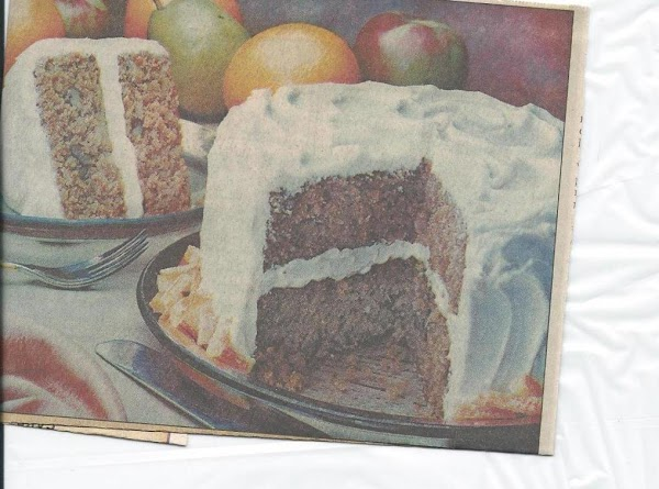 New Age Apple Cake Recipe
