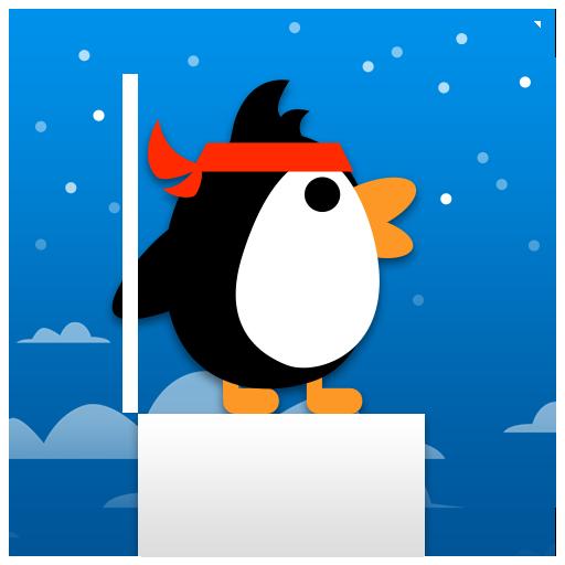 喷喷大冒险之棍子企鹅 - 免费休闲小游戏 休閒 App LOGO-硬是要APP
