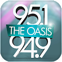 95.1/94.9 The Oasis icon