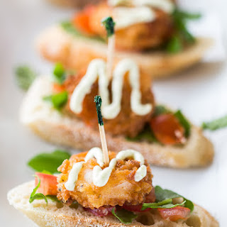 Cajun Shrimp Crostinis