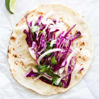Spicy Fish Tacos with Fennel Slaw