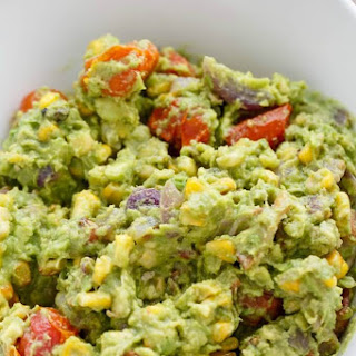 Roasted Guacamole with Bacon