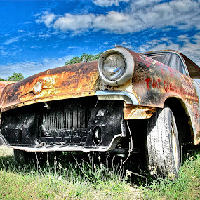 Old Car by Fraya Replinger - Transportation Automobiles ( car, old, automobile, auto, transportation,  )