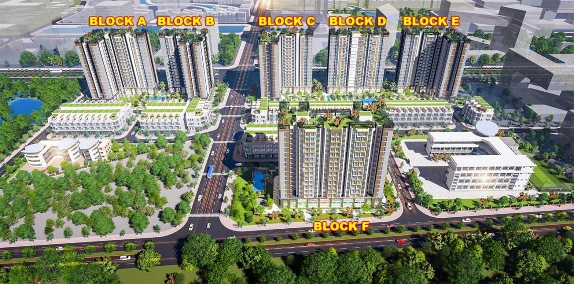 Sở hữu căn hộ chung cư với không gian sống xanh