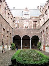 Photo: Orphanage courtyard.