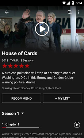 Netflix 3.14.2 build 5186 screenshot 24656