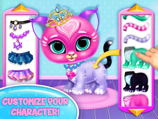 Baby Tiger Care - My Cute Virtual Pet Friend apkpoly screenshots 9