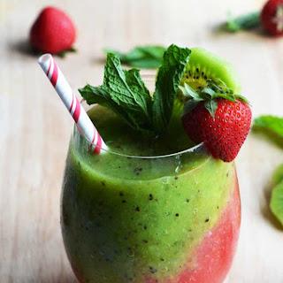 Strawberry And Kiwi Mojitos