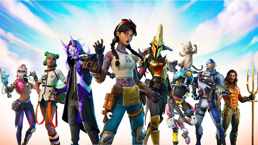 Télécharger Gratuit Fonds d'écran de Fortnite battle royal mobile APK MOD (Astuce) screenshots 1