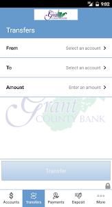 Grant County Bank Mobile Bank screenshot 4