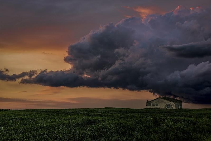 nuvola da temporale di ph Silvio Basta