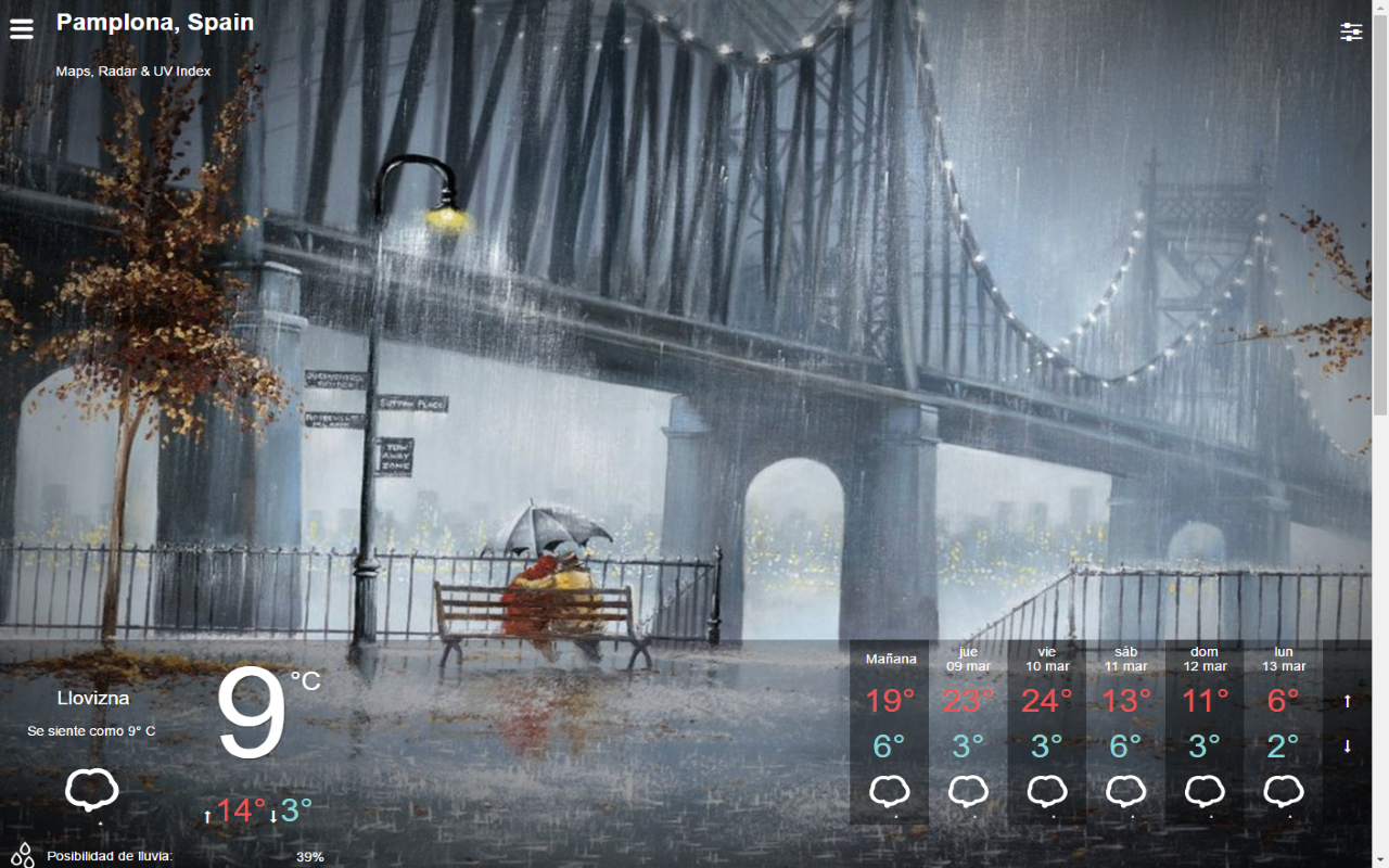 WeatherCute- screenshot