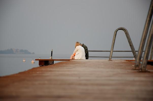 Sul molo... di DiegoCattel